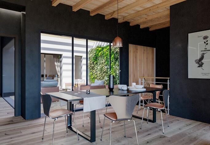 Interior design per interno a Roma