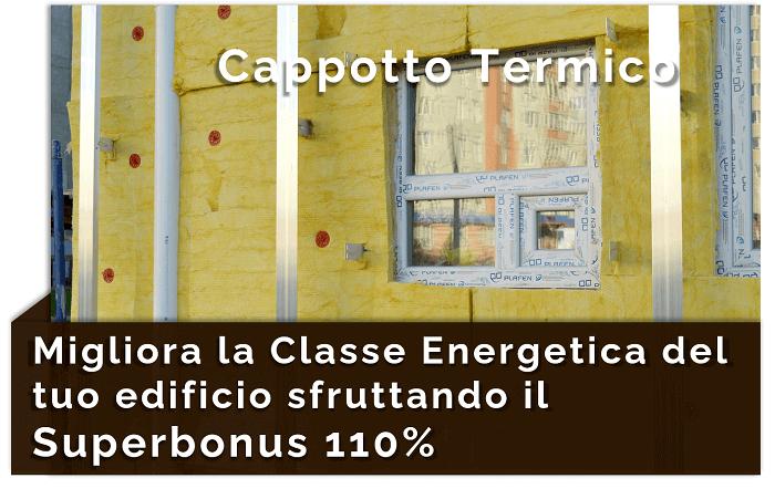 Cappotto termico con il Superbonus 110%