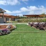 Ristrutturazione spazio esterno e nuovo giardino in un villino ad Ardea (Roma)