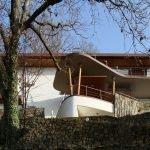 Progetto villa unifamiliare a Nemi (Roma)