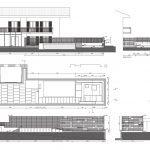 Ristrutturazione di un piccolo spazio esterno con nuovo giardino e piscina in un villino Genzano di Roma