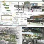 """Concorso internazionale di idee """"Scuole innovative"""" – MIUR Ministero della Pubblica Istruzione - Area progetto di Albano Laziale (Rm) – Italia, 3° Premio"""