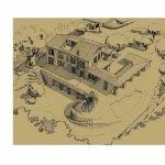 Ristrutturazione di un casale e del parco annesso ad Ariccia